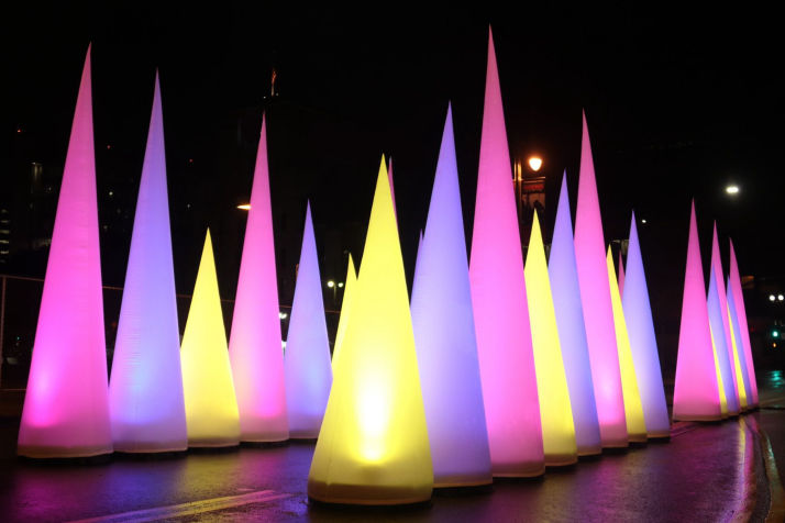 RGB LED Cones